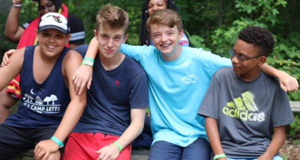 Send a kid to Camp Letts