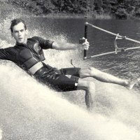 Old Water Skiing Picture